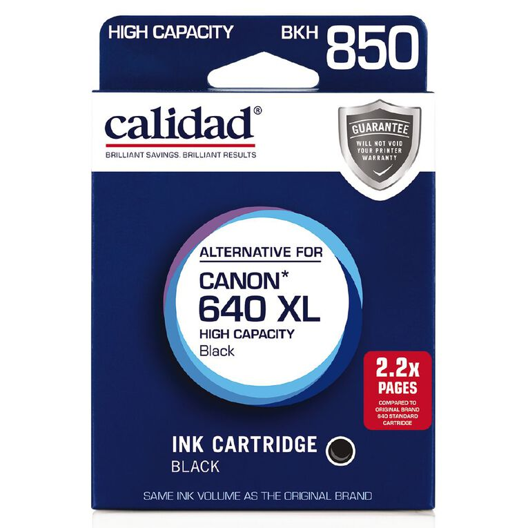 Calidad Canon PG-640XL Black, , hi-res