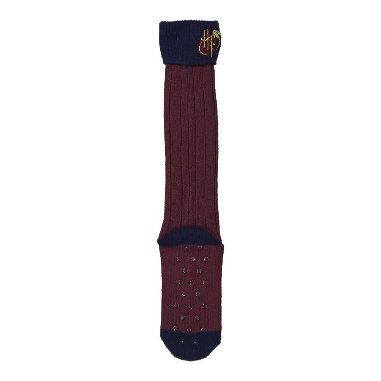 Harry Potter Warner Bros Women's Lounge Socks 1 Pack, Navy, hi-res
