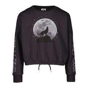 Young Original Elastic Waist Crew Sweatshirt