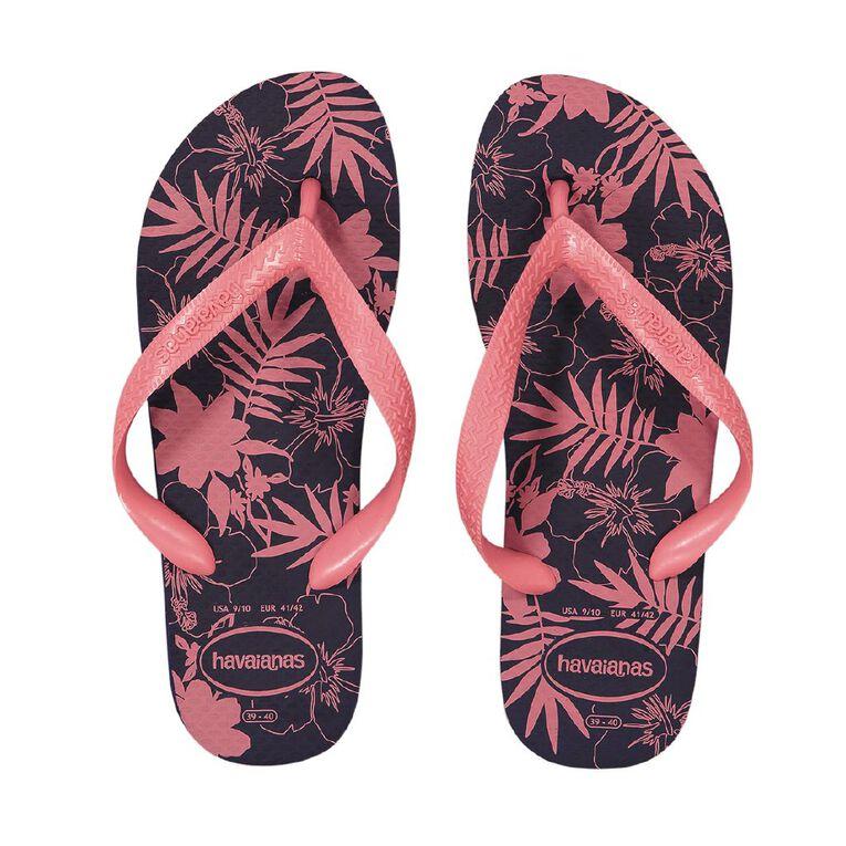 Havaianas Colour Floral Jandals, Pink Dark, hi-res