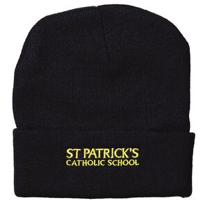 Schooltex St Patricks Beanie with Embroidery