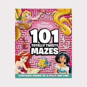Disney Princess: 101 Totally Twisty Mazes