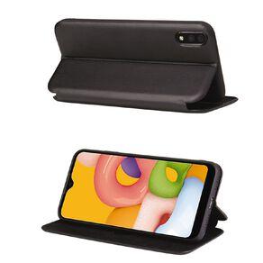 INTOUCH Samsung A01 Milano Wallet Case Black