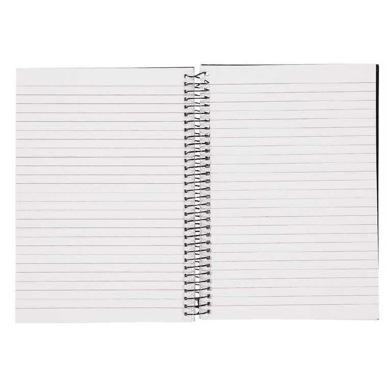 WS Notebook Wiro 200 Pages Hard back Black A5, , hi-res