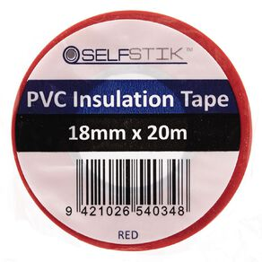 Pomona Insulation Tape PVC Electrical  18mm x 20m Red