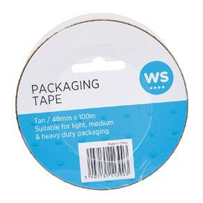 WS Packaging Tape PP 48mm x 100m Tan