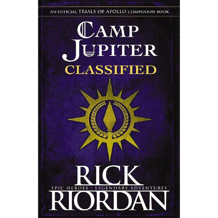 Camp Jupiter Classified by Rick Riordan, , hi-res