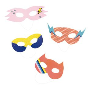 Party Inc Superhero Masks 4 Pack