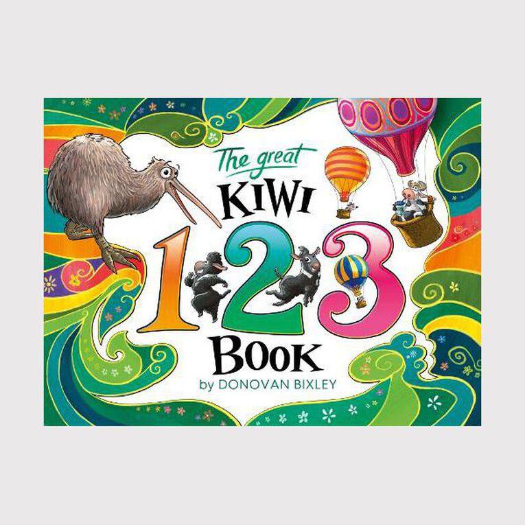 The Great Kiwi 123 Book by Donovan Bixley, , hi-res
