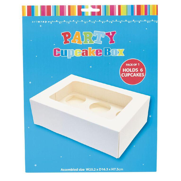 Artwrap Cupcake Box 25.4cm x 16.5cm x 7.8cm, , hi-res
