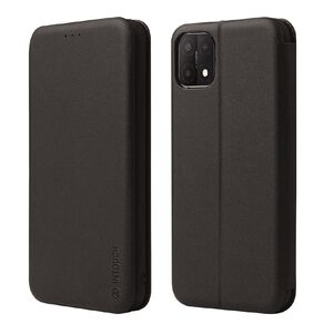 INTOUCH OPPO A15 Milano Wallet Case Black