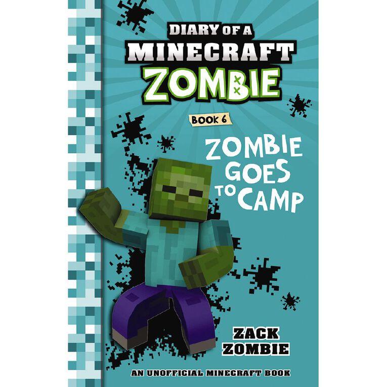 Minecraft Zombie #6 Zombie Goes to Camp by Zack Zombie, , hi-res