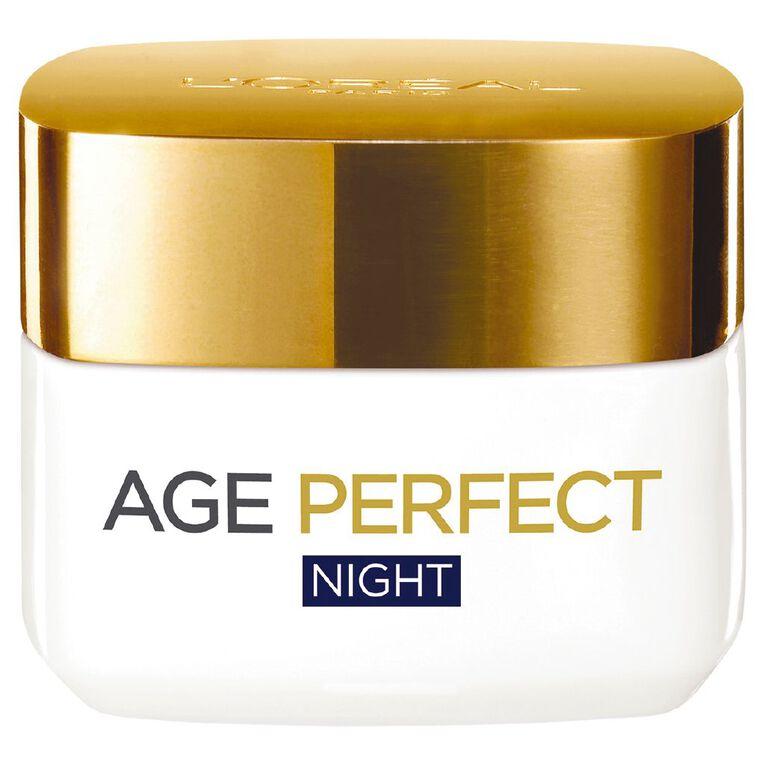L'Oreal Paris Age Perfect Night Cream 50ml, , hi-res