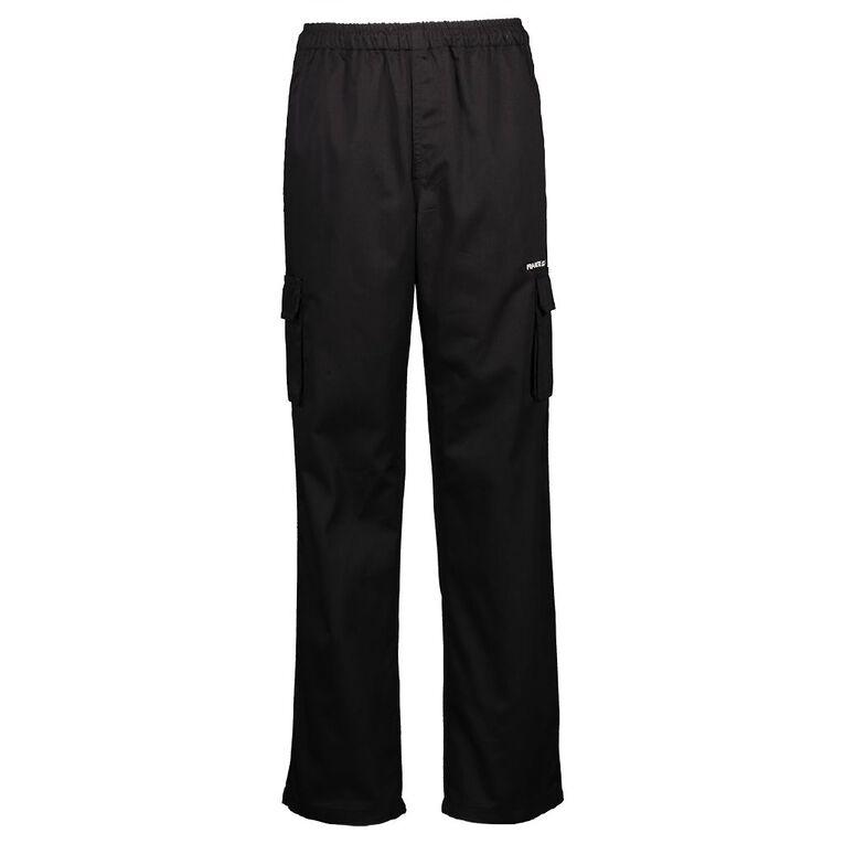 Schooltex Frankton School Cargo Pants with Embroidery, Black, hi-res