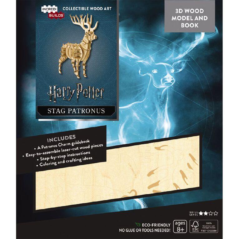 Harry Potter Incredibuilds Stag Patronus 3D Wooden Model, , hi-res