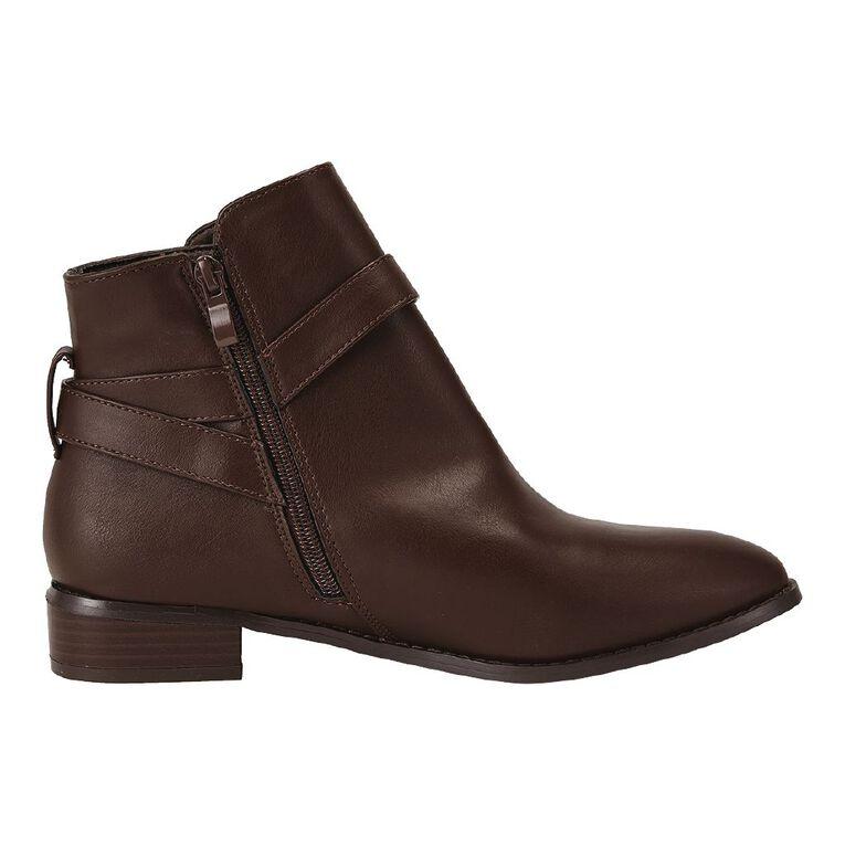 H&H Nicola Boots, Brown, hi-res