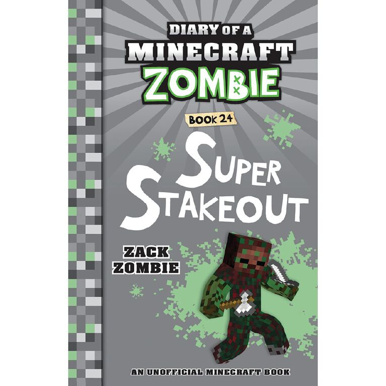 Minecraft Zombie #24 Super Stakeout by Zack Zombie N/A, , hi-res