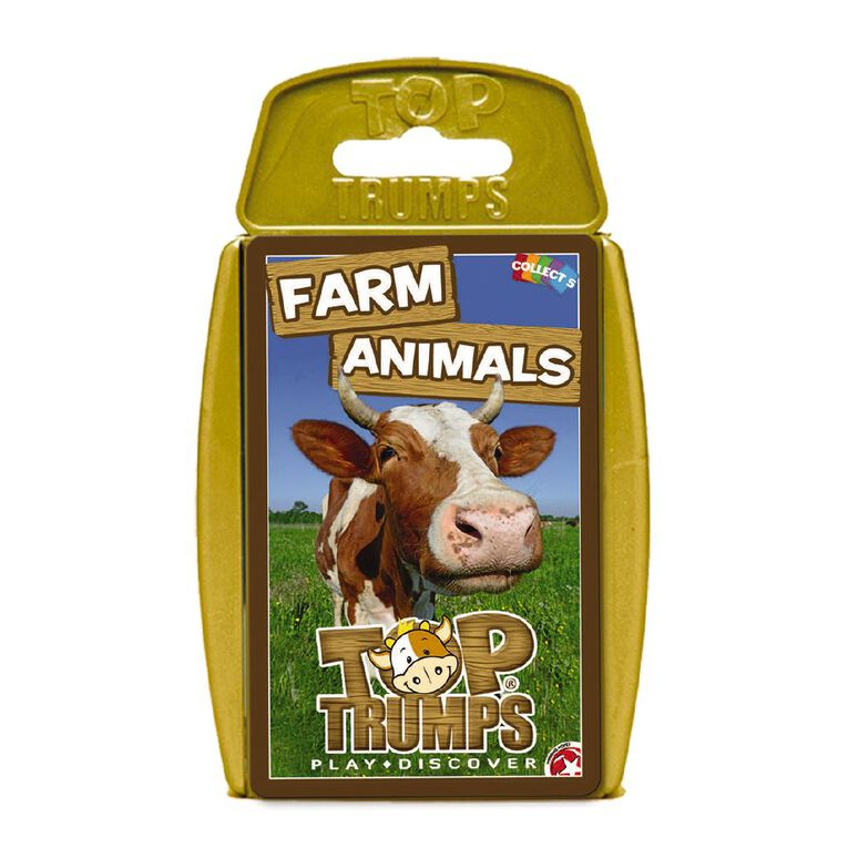 Farm Animals Top Trumps Game, , hi-res