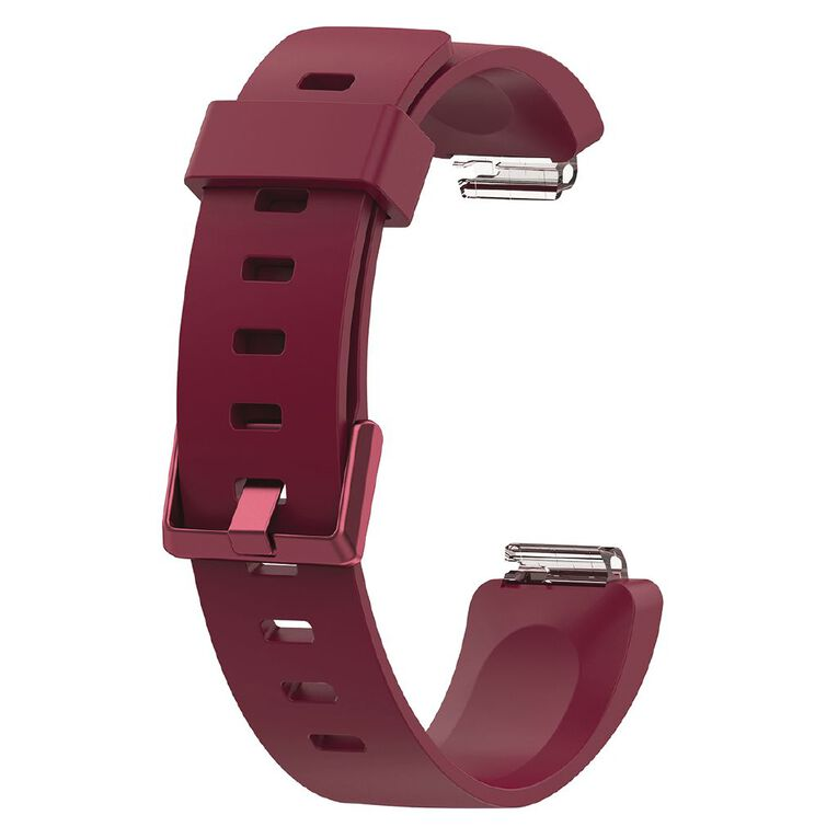 Swifty Replacement Strap For Fitbit Inspire Burgundy Small, , hi-res