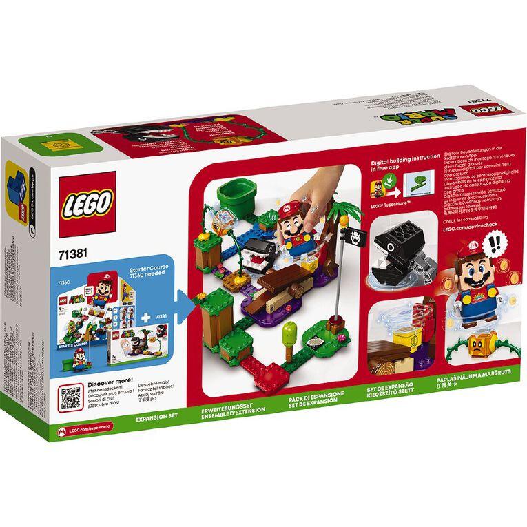 LEGO Super Mario Chain Chomp Jungle Encounter Expansion Set 71381, , hi-res