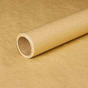 Wonderland Gift Wrap Kraft Paper 70cm x 5m 75gsm Natural