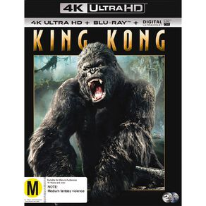 King Kong 4K Blu-ray 2Disc