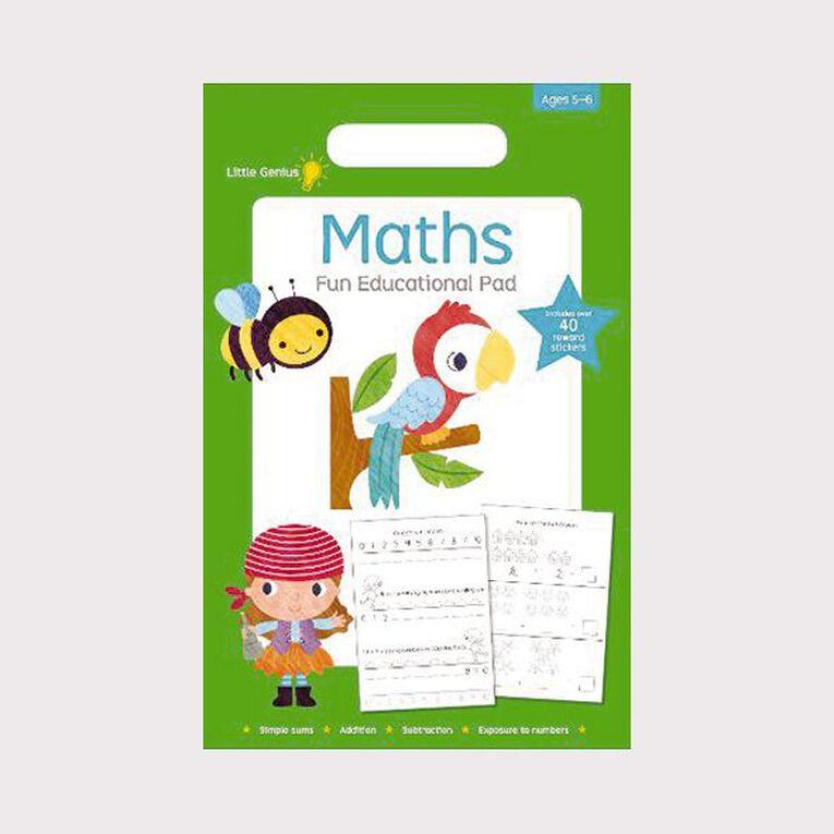 Little Genius Small Pad Maths, , hi-res