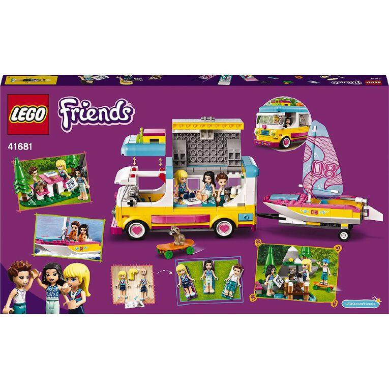 LEGO Friends Forest Camper Van and Sailboat 41681, , hi-res
