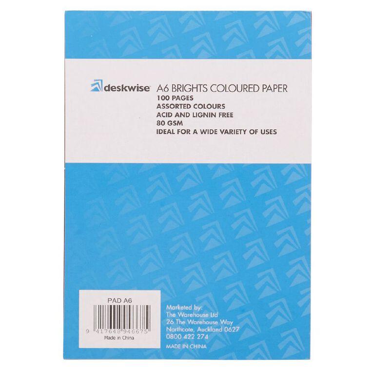 Deskwise Paper Pad Bright A6, , hi-res