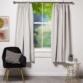 Living & Co Subway Curtains Light Grey 150-230cm Wide/205cm Drop