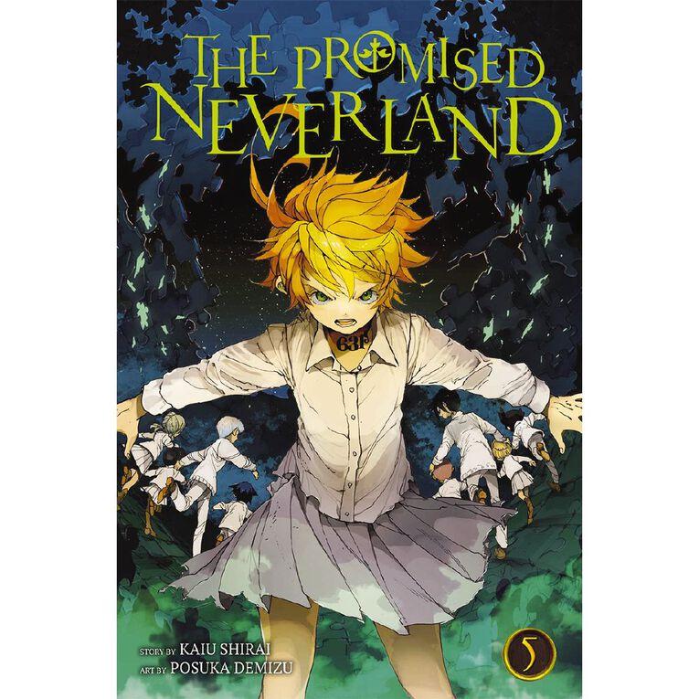 The Promised Neverland Vol #5 by Kaiu Shirai & Posuka Demizu, , hi-res