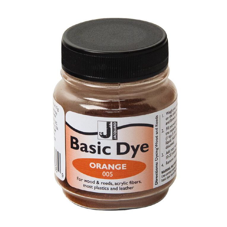 Jacquard Basic Dye 14.17g Orange, , hi-res