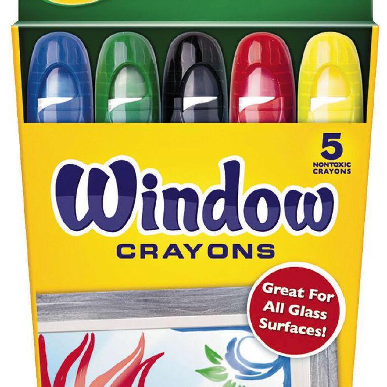 Crayola Window Crayons 5 Pack, , hi-res