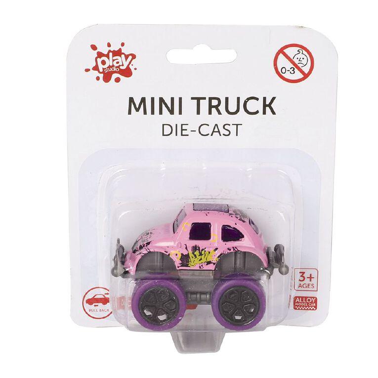 Play Studio Die-cast Mini Truck, , hi-res