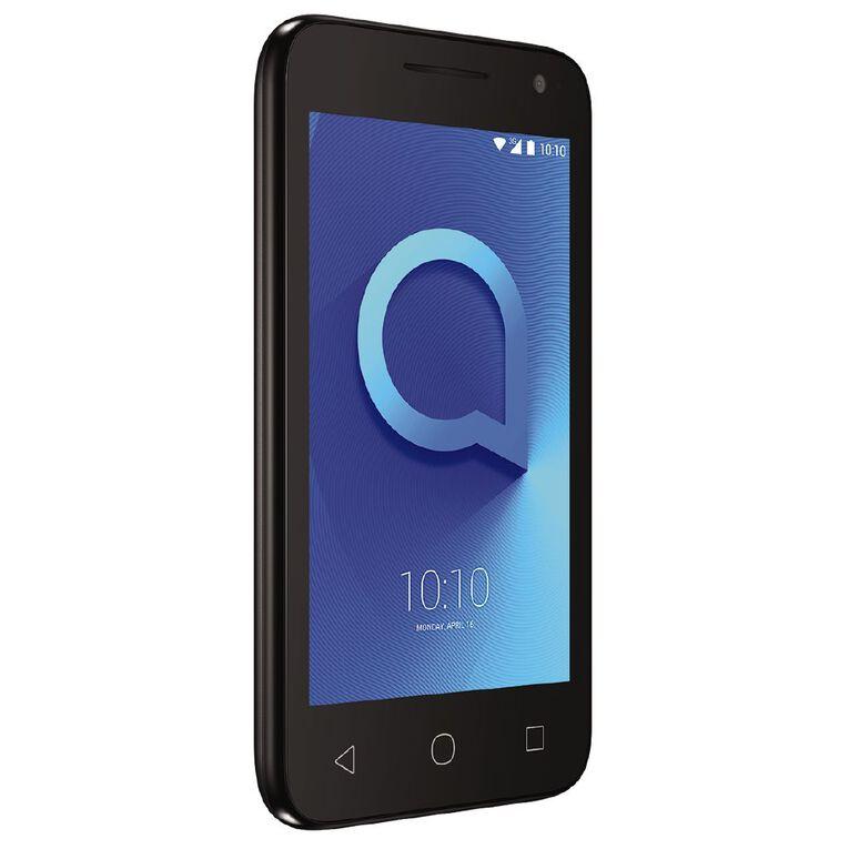2degrees Alcatel 1E 8GB 3G Black, , hi-res