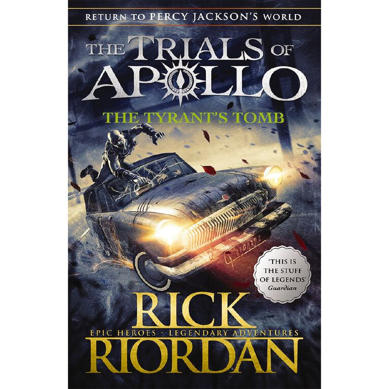 Trials of Apollo #4 The Tyrant's Tomb by Rick Riordan, , hi-res