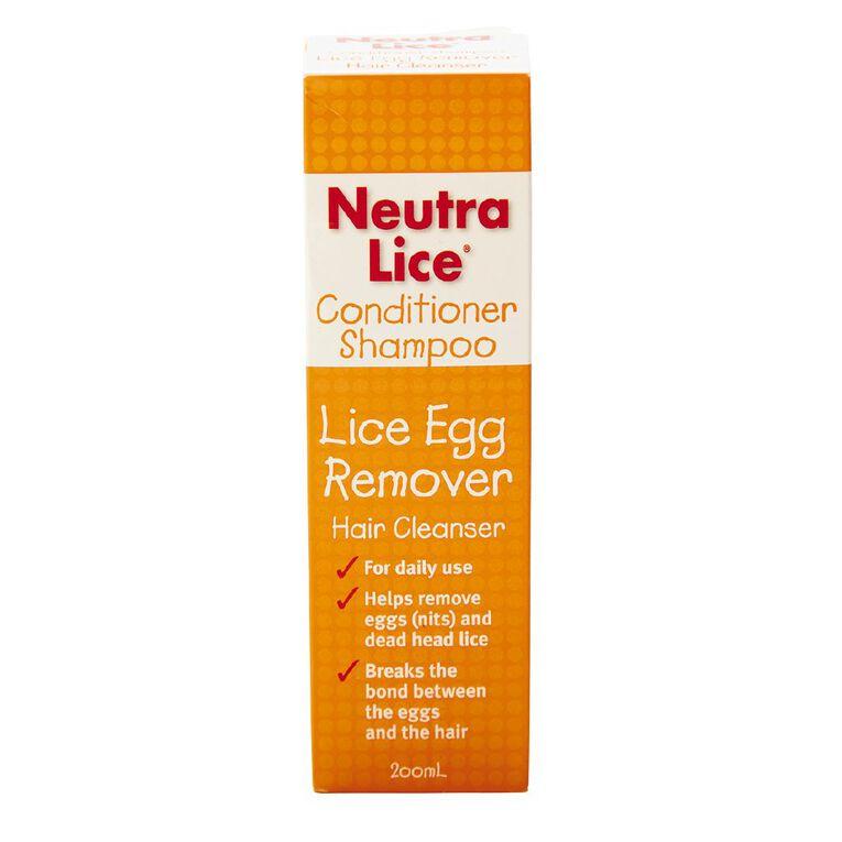 Neutralice Conditioner Shampoo 200ml, , hi-res