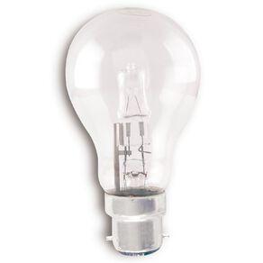 Edapt Halogen B22 Classic Light Bulb Clear 52w Warm White