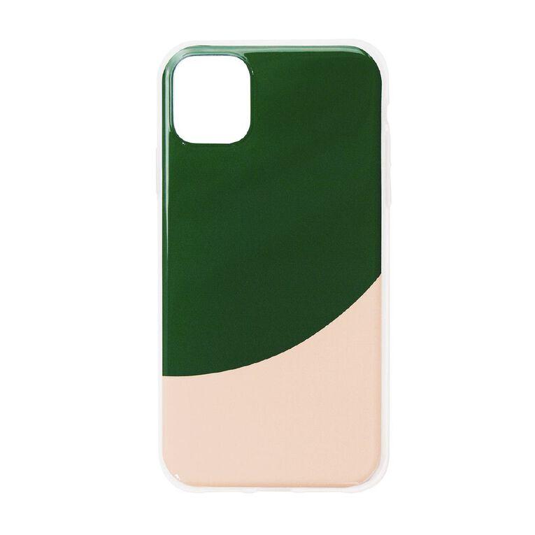 iPhone 11 Phone Case Pink/Green, , hi-res