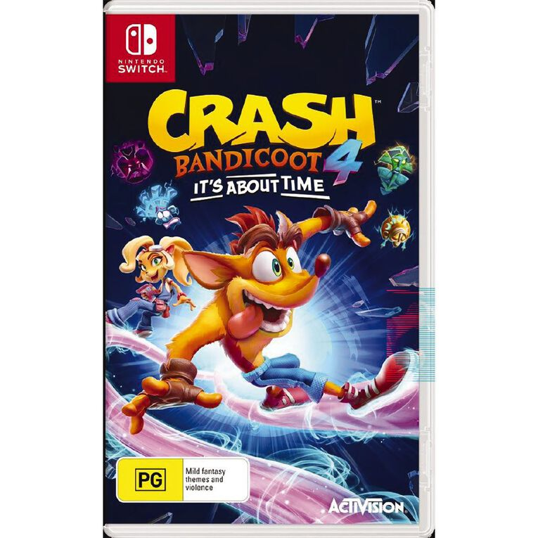 Nintendo Switch Crash Bandicoot 4, , hi-res image number null