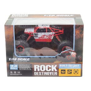 Play Studio Rock Destroyer RC Rally Car 1:18 Scale Assorted