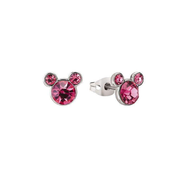Disney Mickey Mouse Birthstone Earrings October, , hi-res