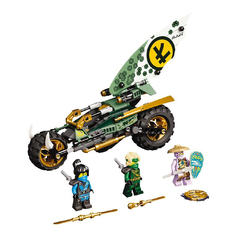 LEGO Ninjago Lloyd's Jungle Chopper Bike 71745, , hi-res