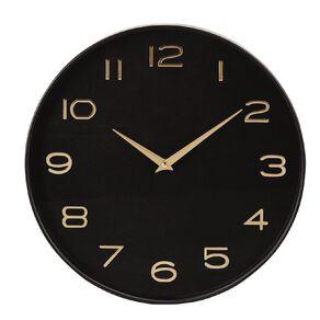 Living & Co Modern Clock Gold 35cm