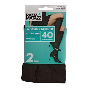 Razzamatazz Women's Oqague Knee High 2 Pack