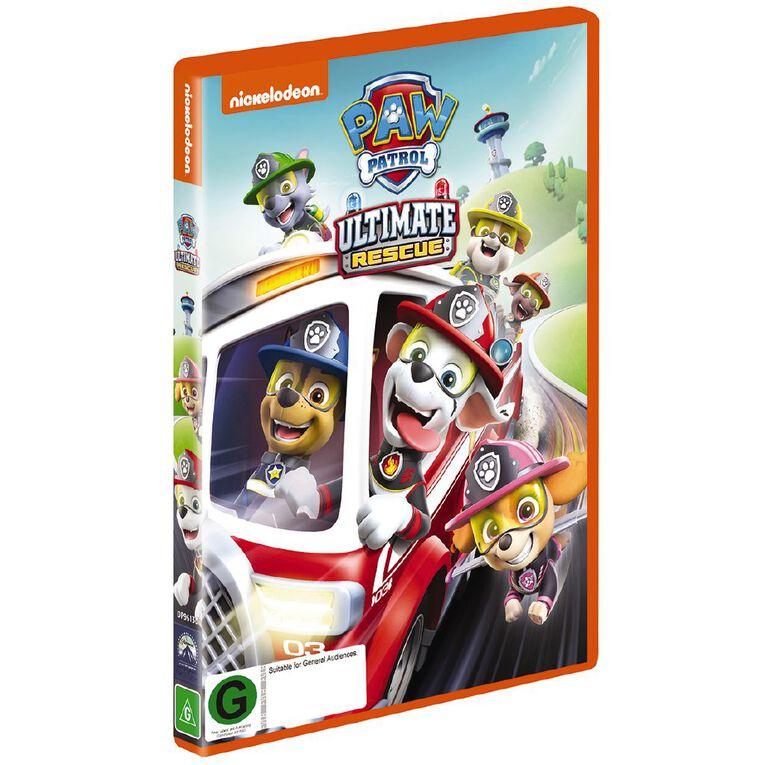 Paw Patrol Ultimate Rescues DVD 1Disc, , hi-res