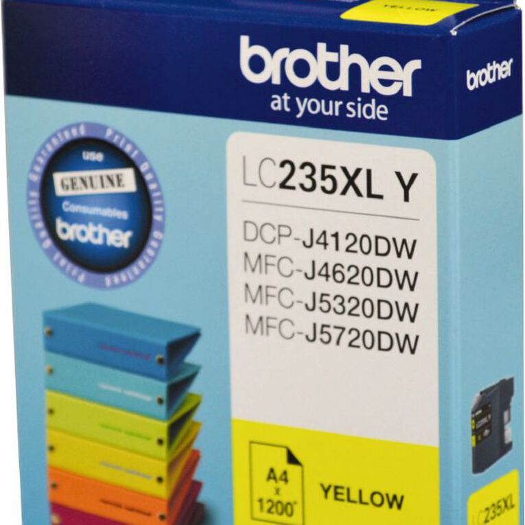 Brother Ink LC235XL Yellow (1200 Pages), , hi-res