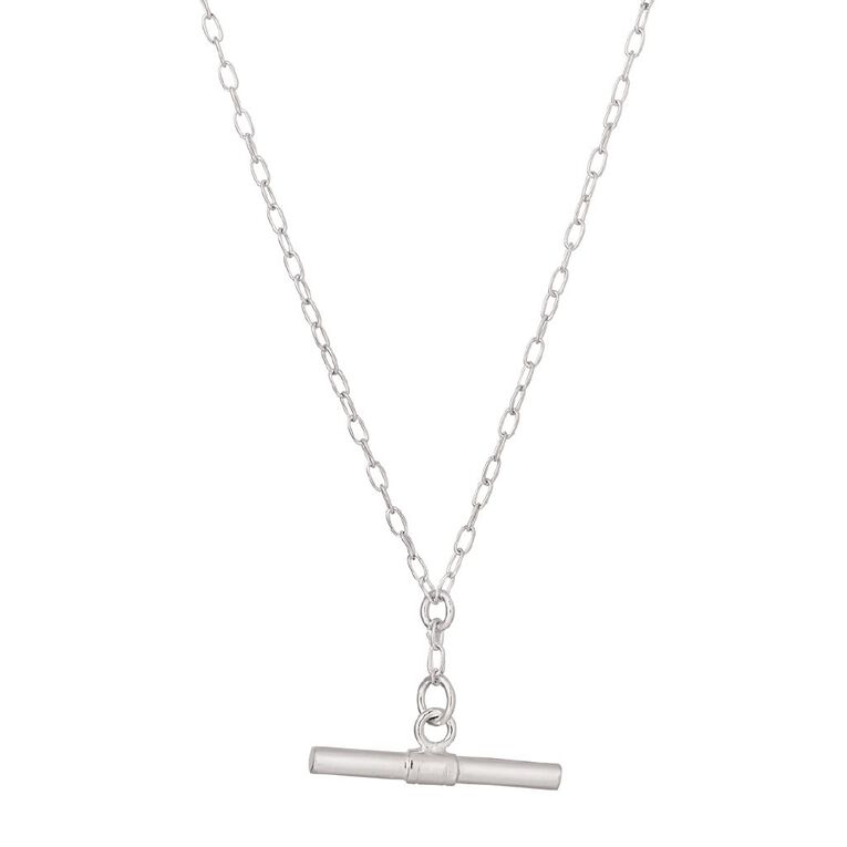 Sterling Silver Fob Chain, , hi-res