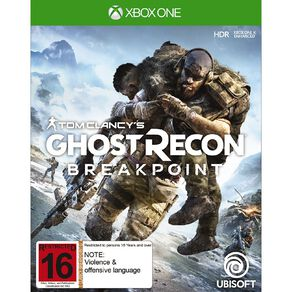 XboxOne Ghost Recon Breakpoint
