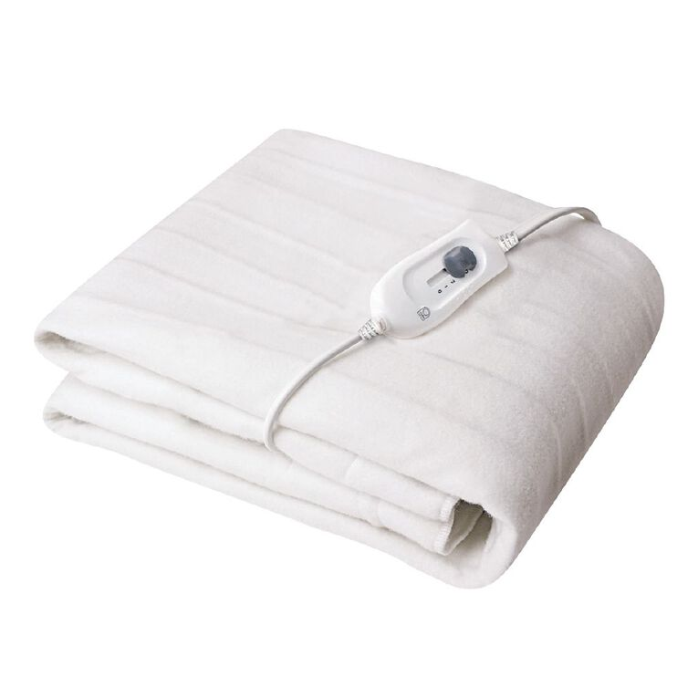 Living & Co Electric Blanket Tie Down Queen 150 x 155cm, , hi-res